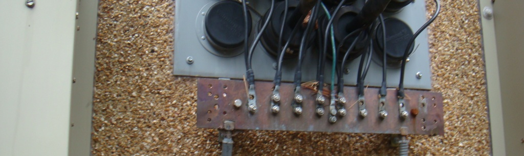 Electrical Ground Bars : Can you explain why the telco ground bar and