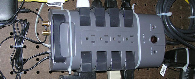 How to Earth a Surge Protector